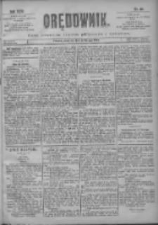 Orędownik: pismo poświęcone sprawom politycznym i spółecznym 1901.02.24 R.31 Nr46