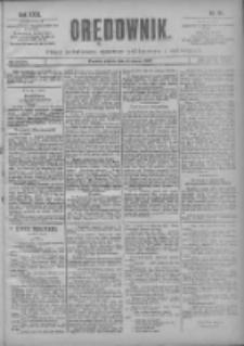 Orędownik: pismo poświęcone sprawom politycznym i spółecznym 1901.03.08 R.31 Nr56