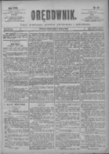 Orędownik: pismo poświęcone sprawom politycznym i spółecznym 1901.03.09 R.31 Nr57