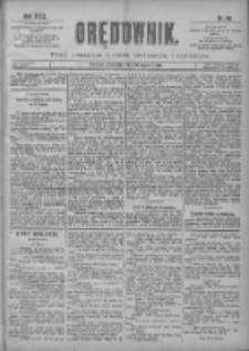Orędownik: pismo poświęcone sprawom politycznym i spółecznym 1901.03.10 R.31 Nr58