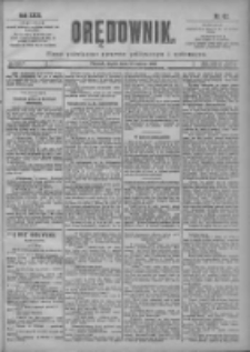 Orędownik: pismo poświęcone sprawom politycznym i spółecznym 1901.03.15 R.31 Nr62