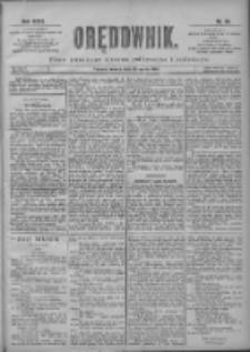Orędownik: pismo poświęcone sprawom politycznym i spółecznym 1901.03.16 R.31 Nr63