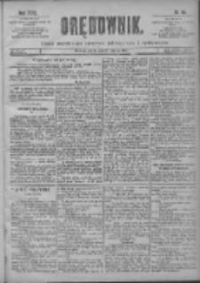 Orędownik: pismo poświęcone sprawom politycznym i spółecznym 1901.03.20 R.31 Nr66