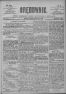 Orędownik: pismo poświęcone sprawom politycznym i spółecznym 1901.03.21 R.31 Nr67