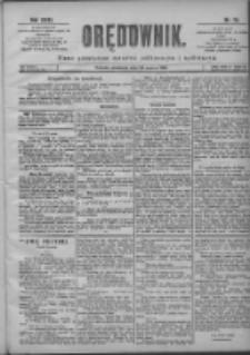 Orędownik: pismo poświęcone sprawom politycznym i spółecznym 1901.03.24 R.31 Nr70