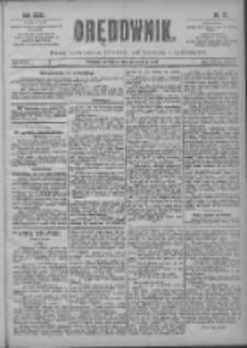 Orędownik: pismo poświęcone sprawom politycznym i spółecznym 1901.03.28 R.31 Nr72