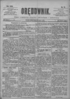 Orędownik: pismo poświęcone sprawom politycznym i spółecznym 1901.03.29 R.31 Nr73