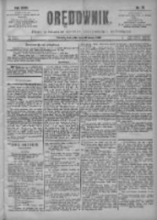 Orędownik: pismo poświęcone sprawom politycznym i spółecznym 1901.03.31 R.31 Nr75