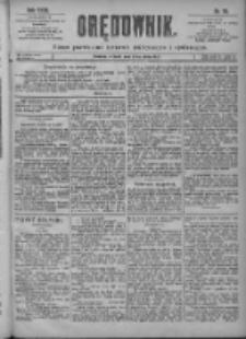 Orędownik: pismo poświęcone sprawom politycznym i spółecznym 1901.04.02 R.31 Nr76