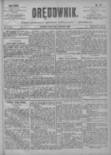 Orędownik: pismo poświęcone sprawom politycznym i spółecznym 1901.04.03 R.31 Nr77