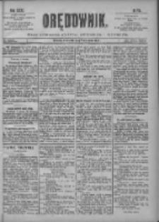 Orędownik: pismo poświęcone sprawom politycznym i spółecznym 1901.04.07 R.31 Nr81