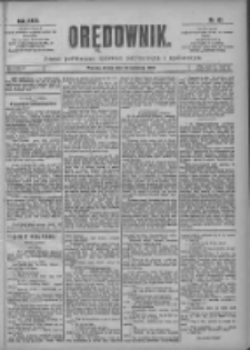 Orędownik: pismo poświęcone sprawom politycznym i spółecznym 1901.04.10 R.31 Nr82