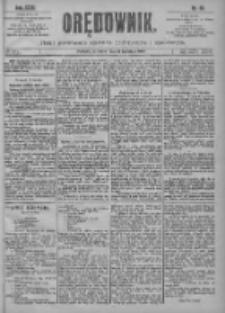Orędownik: pismo poświęcone sprawom politycznym i spółecznym 1901.04.11 R.31 Nr83
