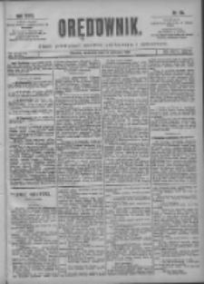 Orędownik: pismo poświęcone sprawom politycznym i spółecznym 1901.04.14 R.31 Nr86