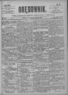 Orędownik: pismo poświęcone sprawom politycznym i spółecznym 1901.04.16 R.31 Nr87