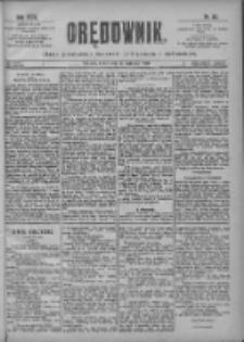 Orędownik: pismo poświęcone sprawom politycznym i spółecznym 1901.04.17 R.31 Nr88
