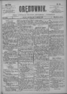 Orędownik: pismo poświęcone sprawom politycznym i spółecznym 1901.04.18 R.31 Nr89