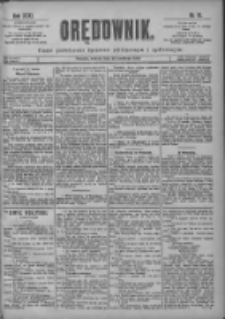 Orędownik: pismo poświęcone sprawom politycznym i spółecznym 1901.04.20 R.31 Nr91