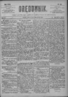 Orędownik: pismo poświęcone sprawom politycznym i spółecznym 1901.04.21 R.31 Nr92