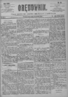 Orędownik: pismo poświęcone sprawom politycznym i spółecznym 1901.04.24 R.31 Nr94