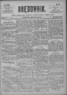 Orędownik: pismo poświęcone sprawom politycznym i spółecznym 1901.04.26 R.31 Nr96