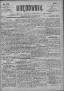 Orędownik: pismo poświęcone sprawom politycznym i spółecznym 1901.04.27 R.31 Nr97