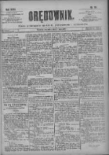 Orędownik: pismo poświęcone sprawom politycznym i spółecznym 1901.05.02 R.31 Nr101