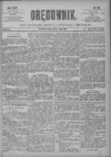 Orędownik: pismo poświęcone sprawom politycznym i spółecznym 1901.05.07 R.31 Nr105