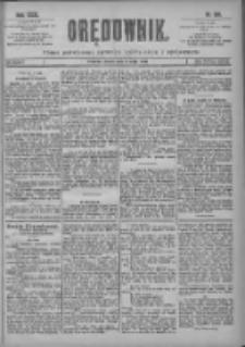 Orędownik: pismo poświęcone sprawom politycznym i spółecznym 1901.05.08 R.31 Nr106
