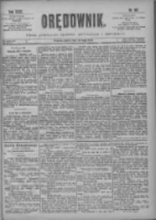 Orędownik: pismo poświęcone sprawom politycznym i spółecznym 1901.05.10 R.31 Nr107