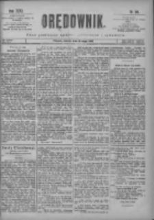 Orędownik: pismo poświęcone sprawom politycznym i spółecznym 1901.05.14 R.31 Nr110