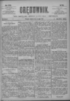 Orędownik: pismo poświęcone sprawom politycznym i spółecznym 1901.05.18 R.31 Nr113