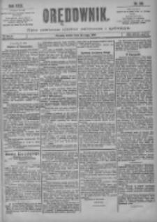 Orędownik: pismo poświęcone sprawom politycznym i spółecznym 1901.05.22 R.31 Nr116
