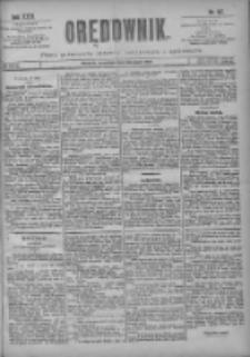 Orędownik: pismo poświęcone sprawom politycznym i spółecznym 1901.05.23 R.31 Nr117