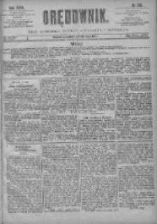 Orędownik: pismo poświęcone sprawom politycznym i spółecznym 1901.05.26 R.31 Nr120