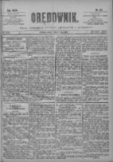 Orędownik: pismo poświęcone sprawom politycznym i spółecznym 1901.05.31 R.31 Nr123