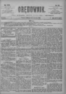 Orędownik: pismo poświęcone sprawom politycznym i spółecznym 1901.06.02 R.31 Nr125