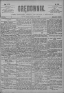 Orędownik: pismo poświęcone sprawom politycznym i spółecznym 1901.06.04 R.31 Nr126