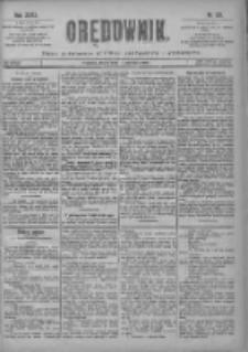 Orędownik: pismo poświęcone sprawom politycznym i spółecznym 1901.06.05 R.31 Nr127