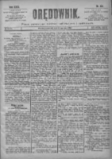 Orędownik: pismo poświęcone sprawom politycznym i spółecznym 1901.06.06 R.31 Nr128