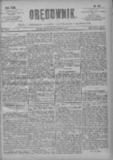 Orędownik: pismo poświęcone sprawom politycznym i spółecznym 1901.06.11 R.31 Nr131
