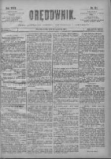 Orędownik: pismo poświęcone sprawom politycznym i spółecznym 1901.06.12 R.31 Nr132