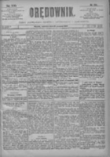 Orędownik: pismo poświęcone sprawom politycznym i spółecznym 1901.06.13 R.31 Nr133