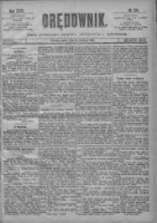 Orędownik: pismo poświęcone sprawom politycznym i spółecznym 1901.06.14 R.31 Nr134