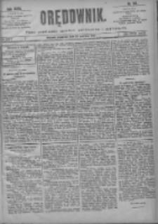 Orędownik: pismo poświęcone sprawom politycznym i spółecznym 1901.06.20 R.31 Nr139