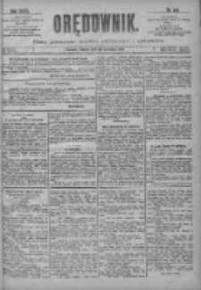 Orędownik: pismo poświęcone sprawom politycznym i spółecznym 1901.06.25 R.31 Nr143