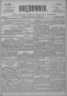 Orędownik: pismo poświęcone sprawom politycznym i spółecznym 1901.06.27 R.31 Nr145