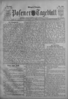 Posener Tageblatt 1911.06.11 Jg.50 Nr269