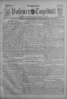 Posener Tageblatt 1911.06.15 Jg.50 Nr276