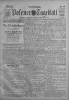 Posener Tageblatt 1911.06.17 Jg.50 Nr279